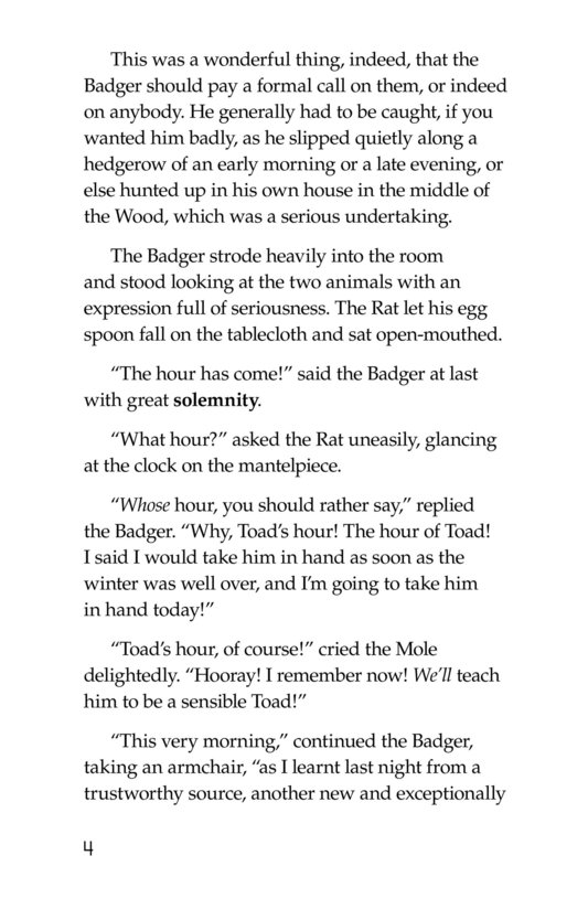 Book Preview For The Wind in the Willows (Part 6) Page 4