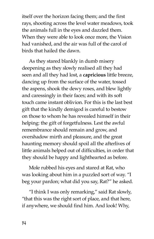 Book Preview For The Wind in the Willows (Part 7) Page 14