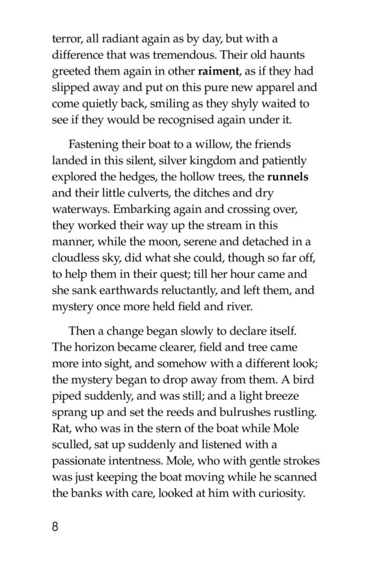 Book Preview For The Wind in the Willows (Part 7) Page 8