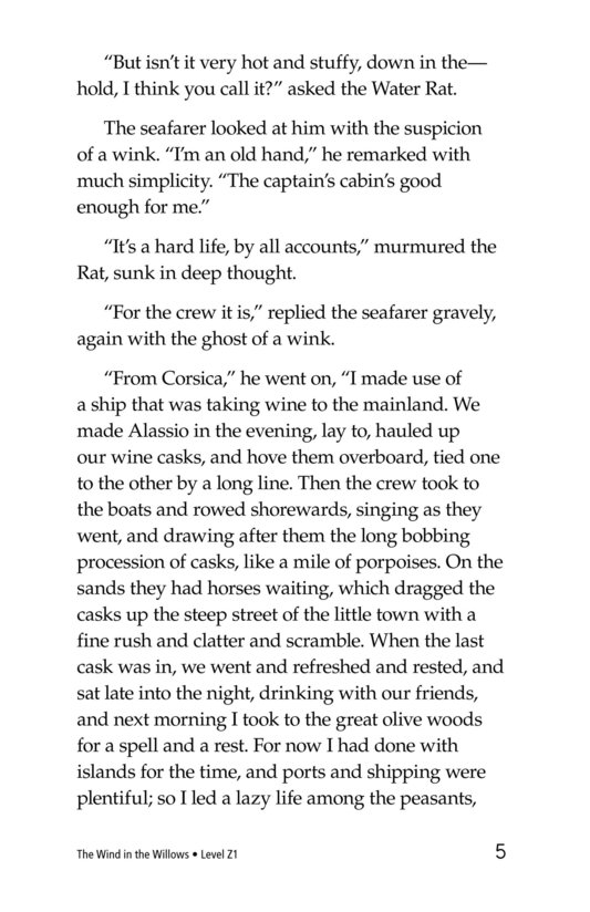 Book Preview For The Wind in the Willows (Part 10) Page 5