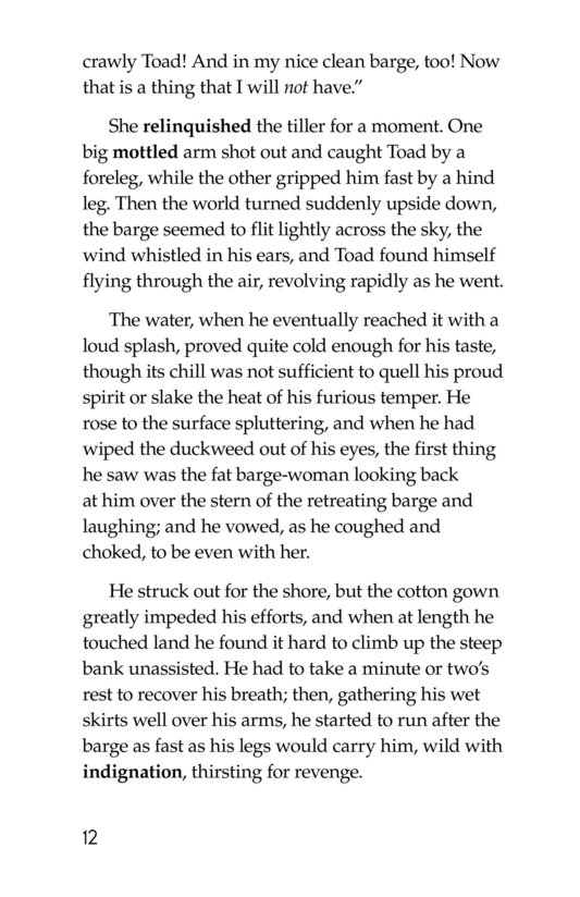 Book Preview For The Wind in the Willows (Part 11) Page 12