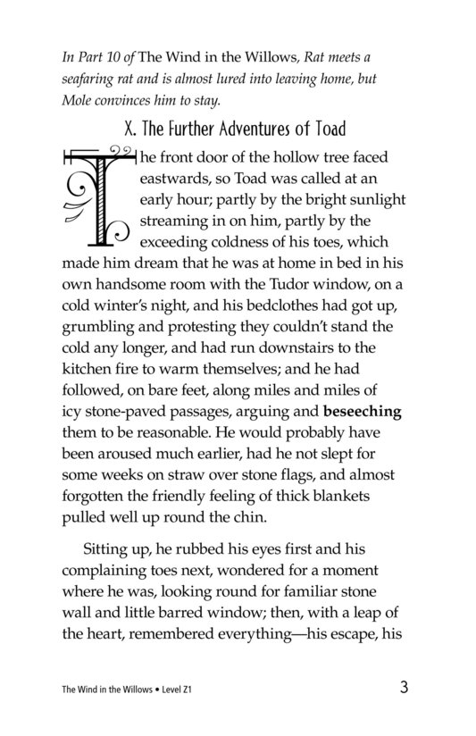 Book Preview For The Wind in the Willows (Part 11) Page 3
