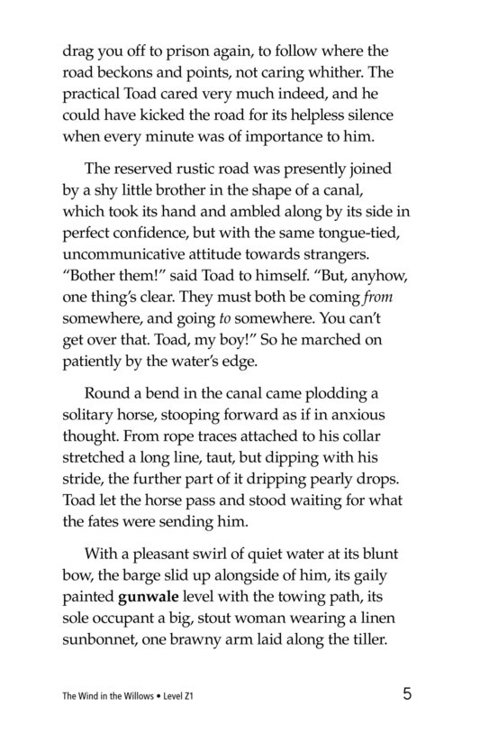 Book Preview For The Wind in the Willows (Part 11) Page 5