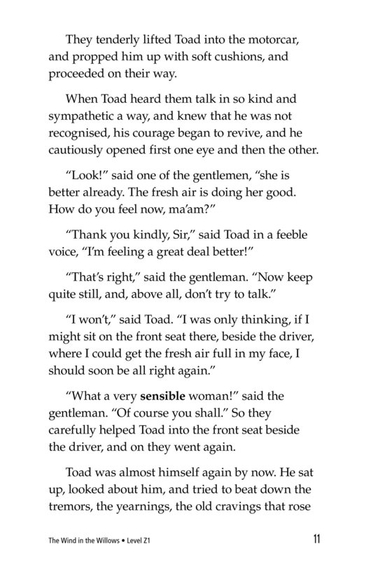 Book Preview For The Wind in the Willows (Part 12) Page 11