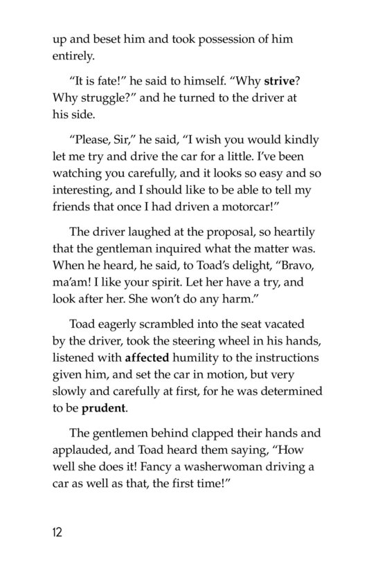 Book Preview For The Wind in the Willows (Part 12) Page 12