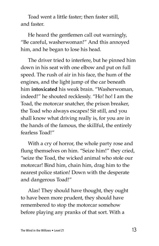 Book Preview For The Wind in the Willows (Part 12) Page 13