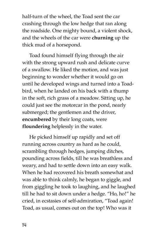 Book Preview For The Wind in the Willows (Part 12) Page 14