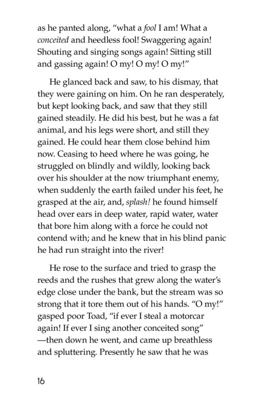 Book Preview For The Wind in the Willows (Part 12) Page 16