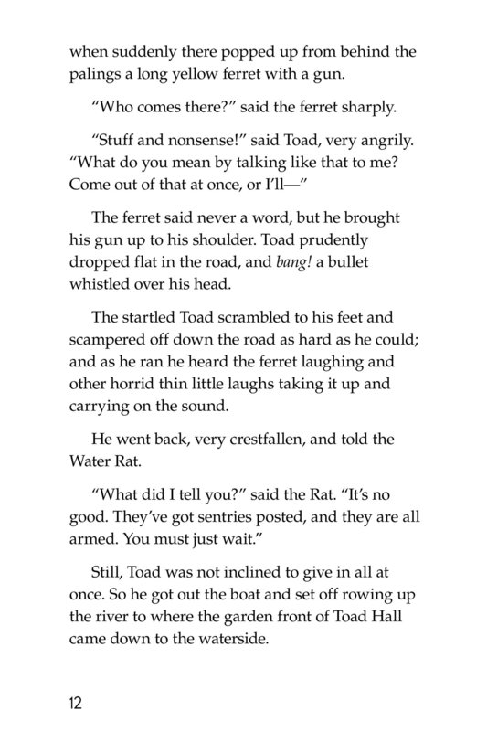 Book Preview For The Wind in the Willows (Part 13) Page 12