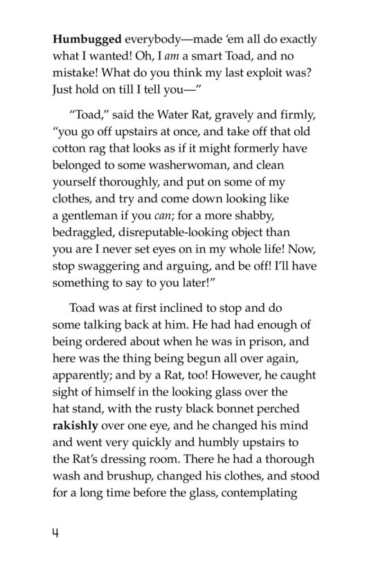 Book Preview For The Wind in the Willows (Part 13) Page 4