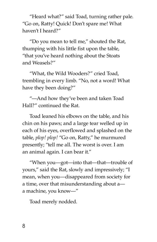 Book Preview For The Wind in the Willows (Part 13) Page 8