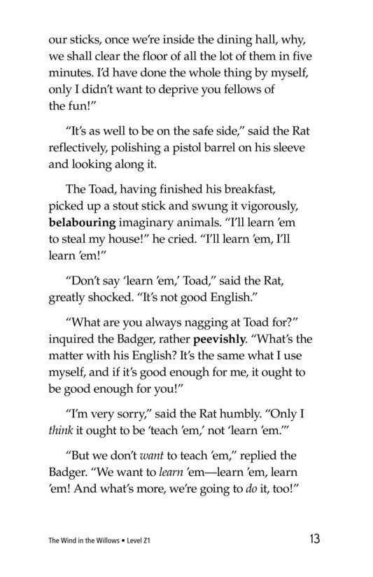 Book Preview For The Wind in the Willows (Part 14) Page 13