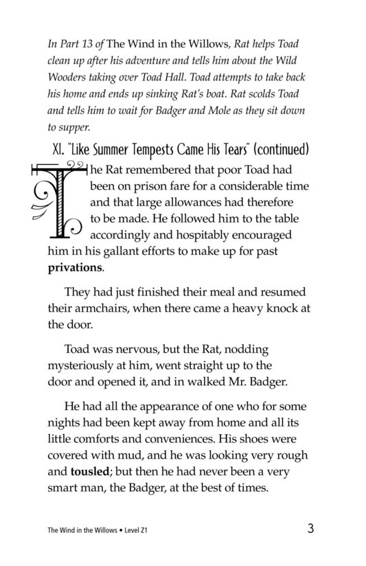 Book Preview For The Wind in the Willows (Part 14) Page 3