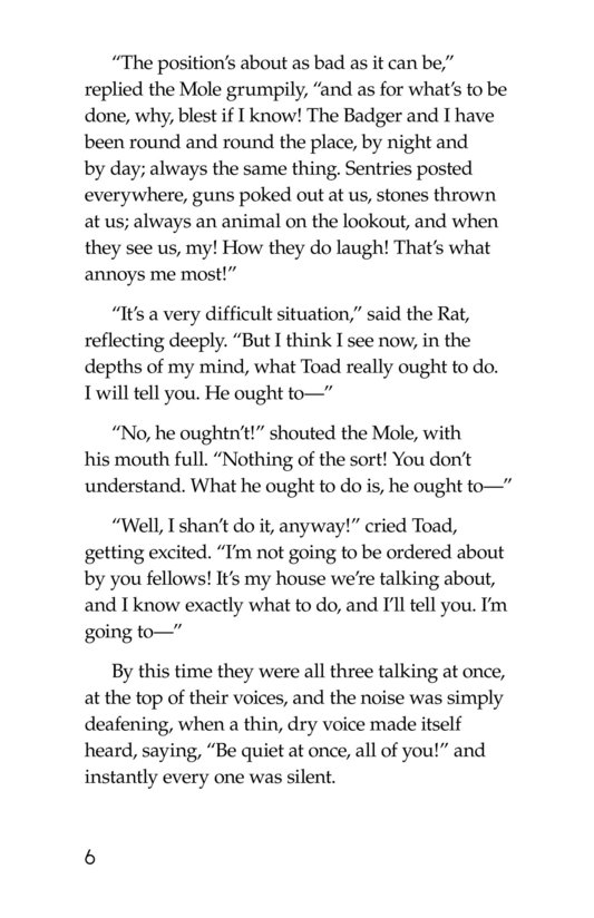 Book Preview For The Wind in the Willows (Part 14) Page 6