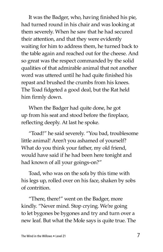 Book Preview For The Wind in the Willows (Part 14) Page 7