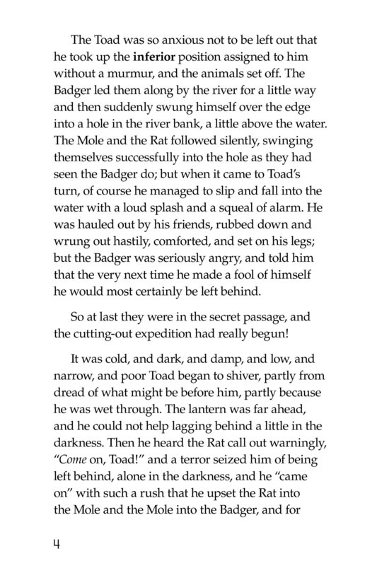 Book Preview For The Wind in the Willows (Part 15) Page 4
