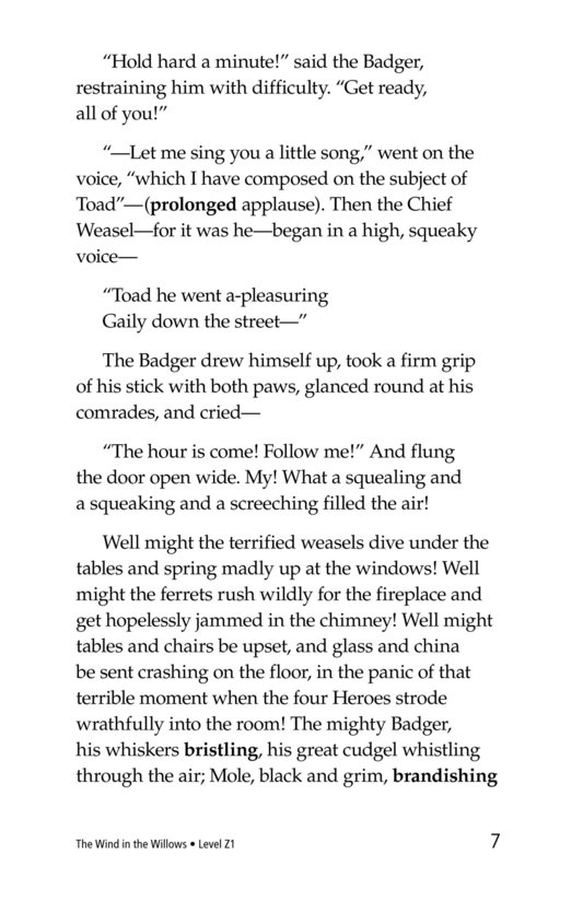 Book Preview For The Wind in the Willows (Part 15) Page 7
