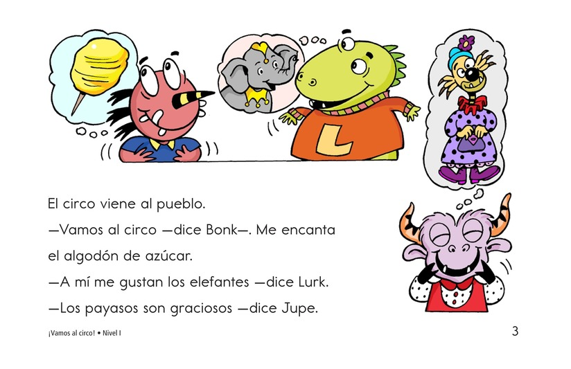 Book Preview For Let's Go to the Circus! Page 3