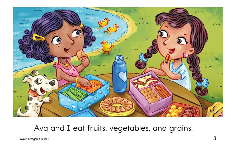 Book Preview For Ava Is a Vegan Page 3