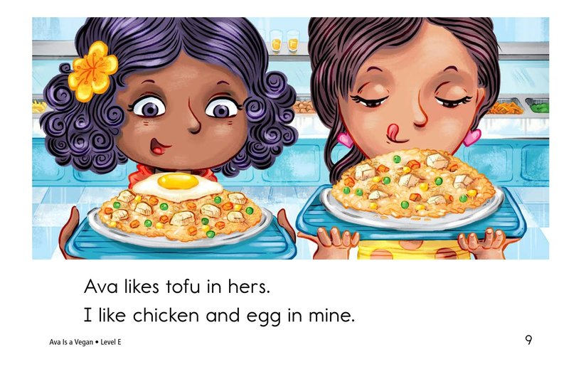 Book Preview For Ava Is a Vegan Page 9