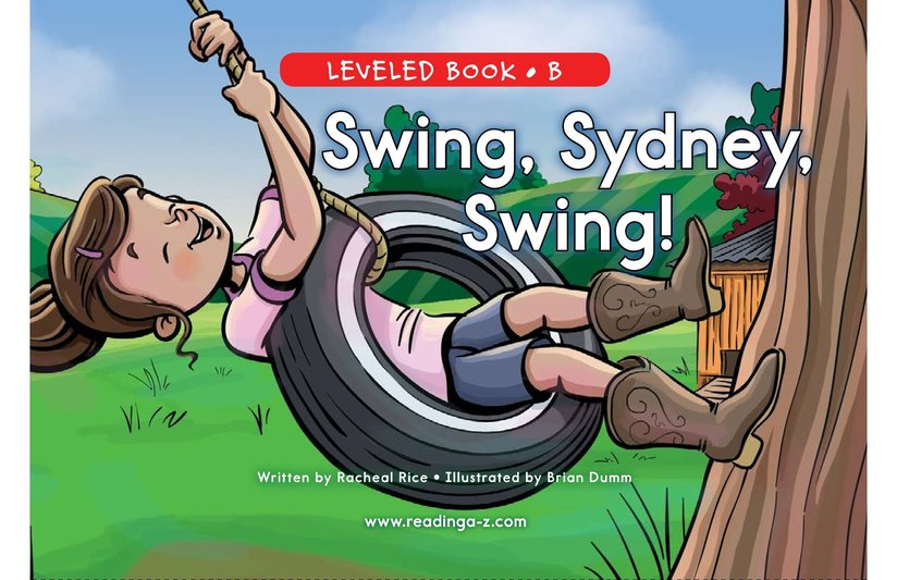 Book Preview For Swing, Sydney, Swing! Page 0