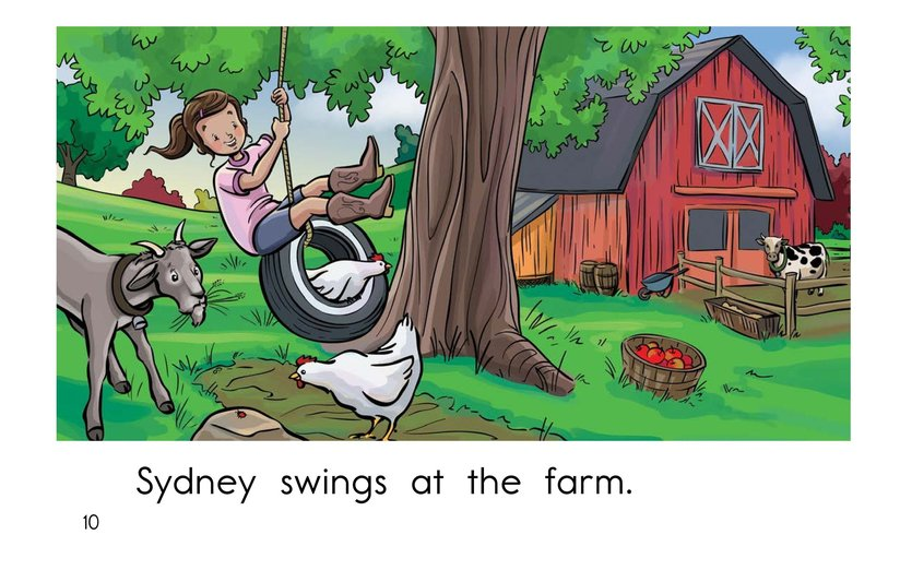 Book Preview For Swing, Sydney, Swing! Page 10