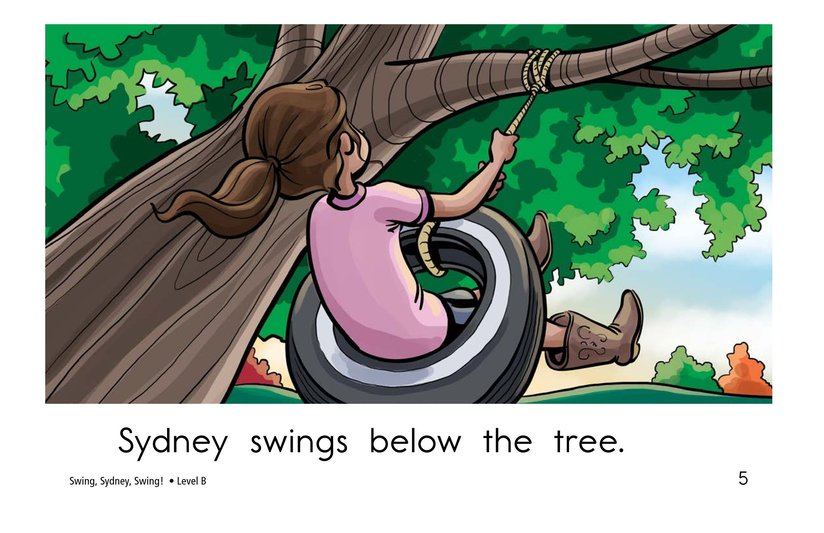 Book Preview For Swing, Sydney, Swing! Page 5