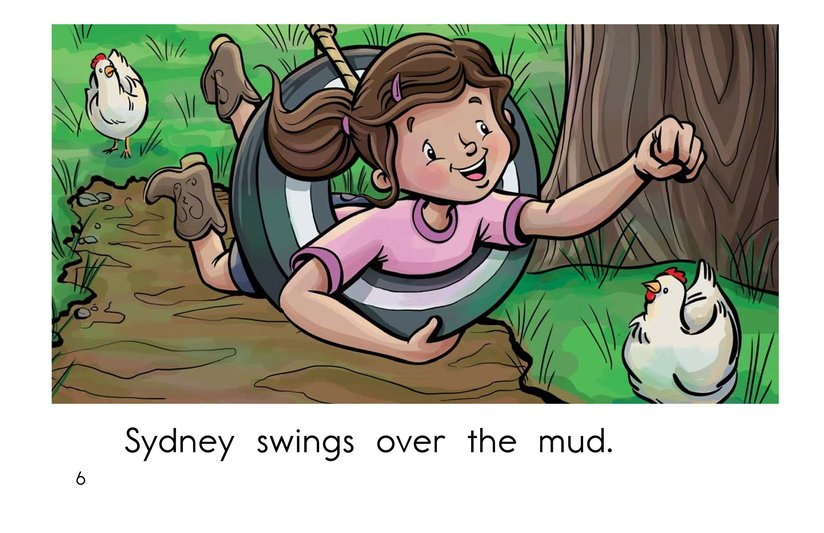 Book Preview For Swing, Sydney, Swing! Page 6