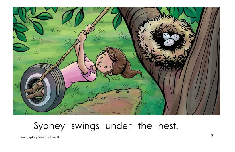 Book Preview For Swing, Sydney, Swing! Page 7