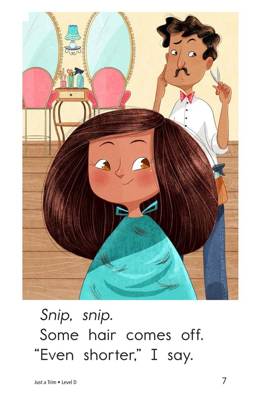 Book Preview For Just a Trim Page 7