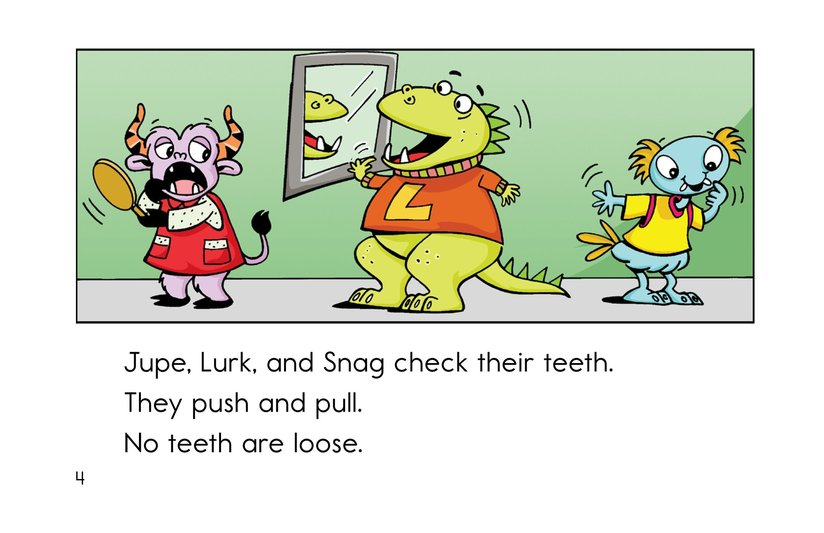 Book Preview For Bonk's Loose Tooth Page 4