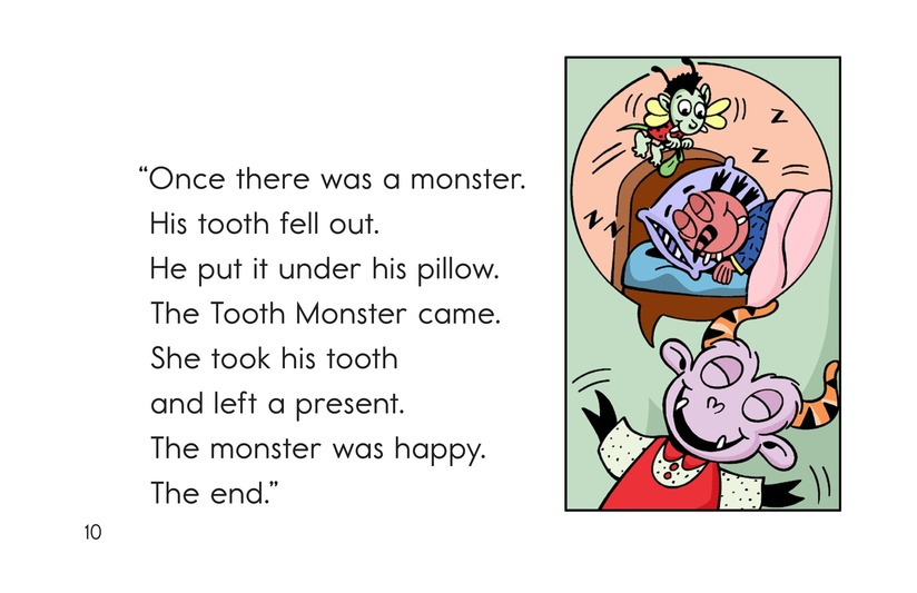 Book Preview For Bonk's Loose Tooth Page 10