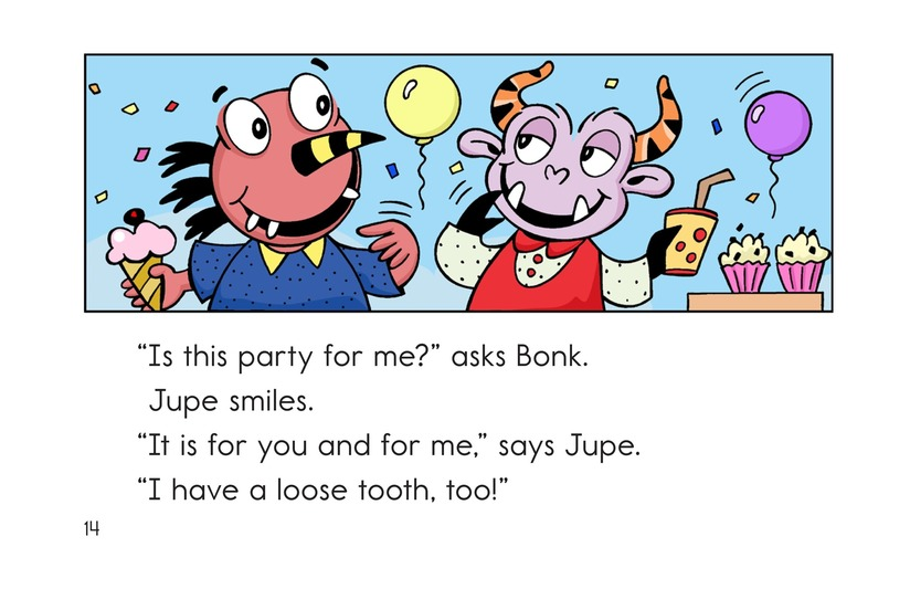 Book Preview For Bonk's Loose Tooth Page 14