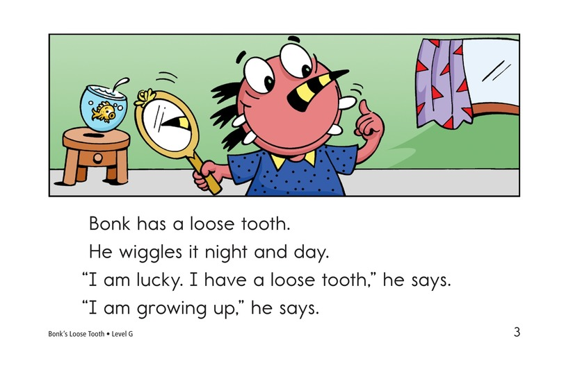 Book Preview For Bonk's Loose Tooth Page 3