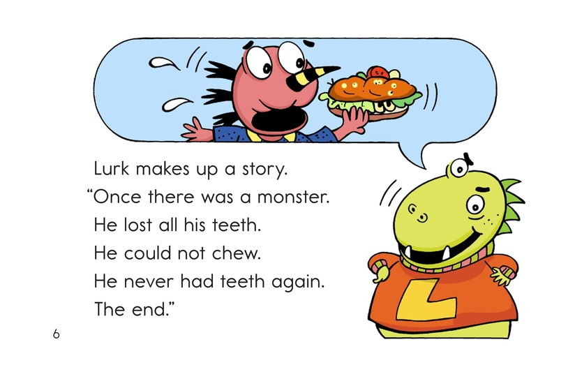 Book Preview For Bonk's Loose Tooth Page 6