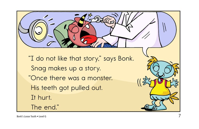 Book Preview For Bonk's Loose Tooth Page 7