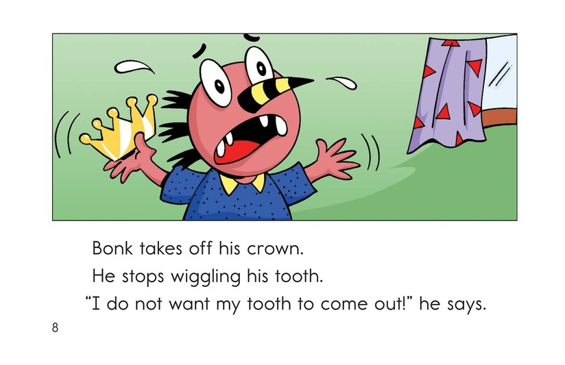 Book Preview For Bonk's Loose Tooth Page 8