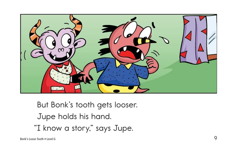 Book Preview For Bonk's Loose Tooth Page 9