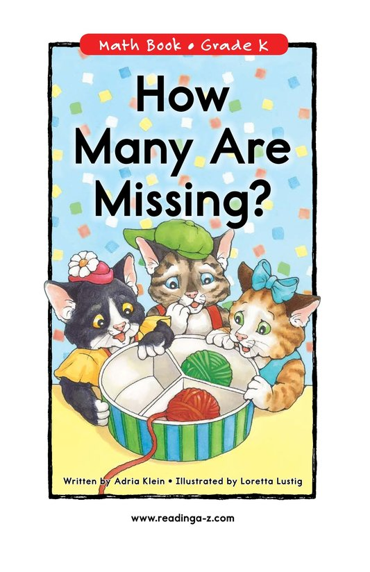 Book Preview For How Many Are Missing? Page 0
