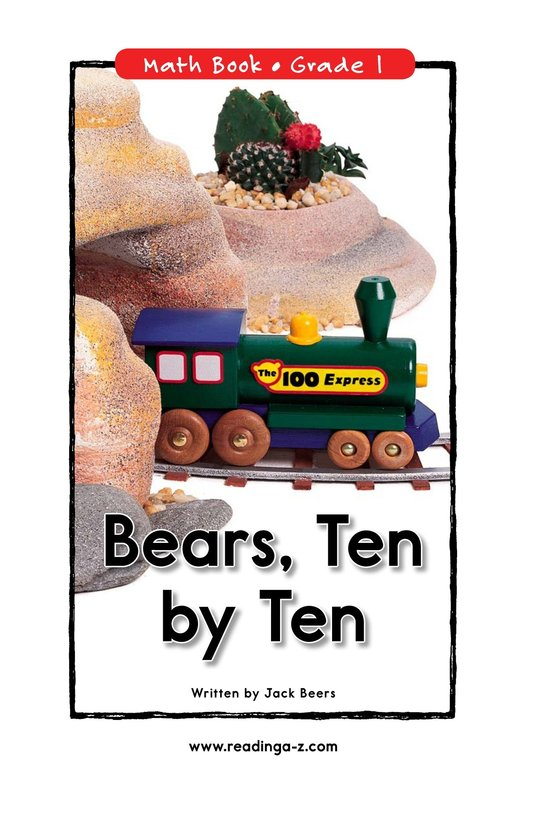 Book Preview For Bears, Ten by Ten Page 0