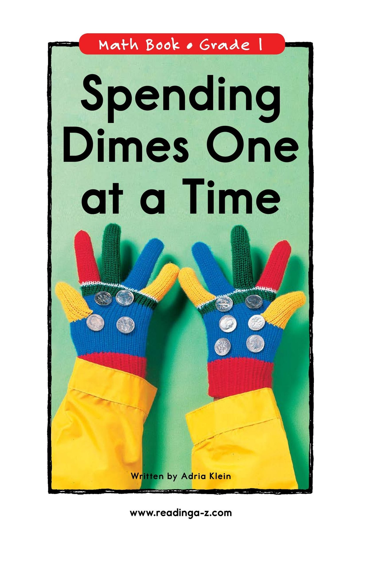 Book Preview For Spending Dimes One at a Time Page 1