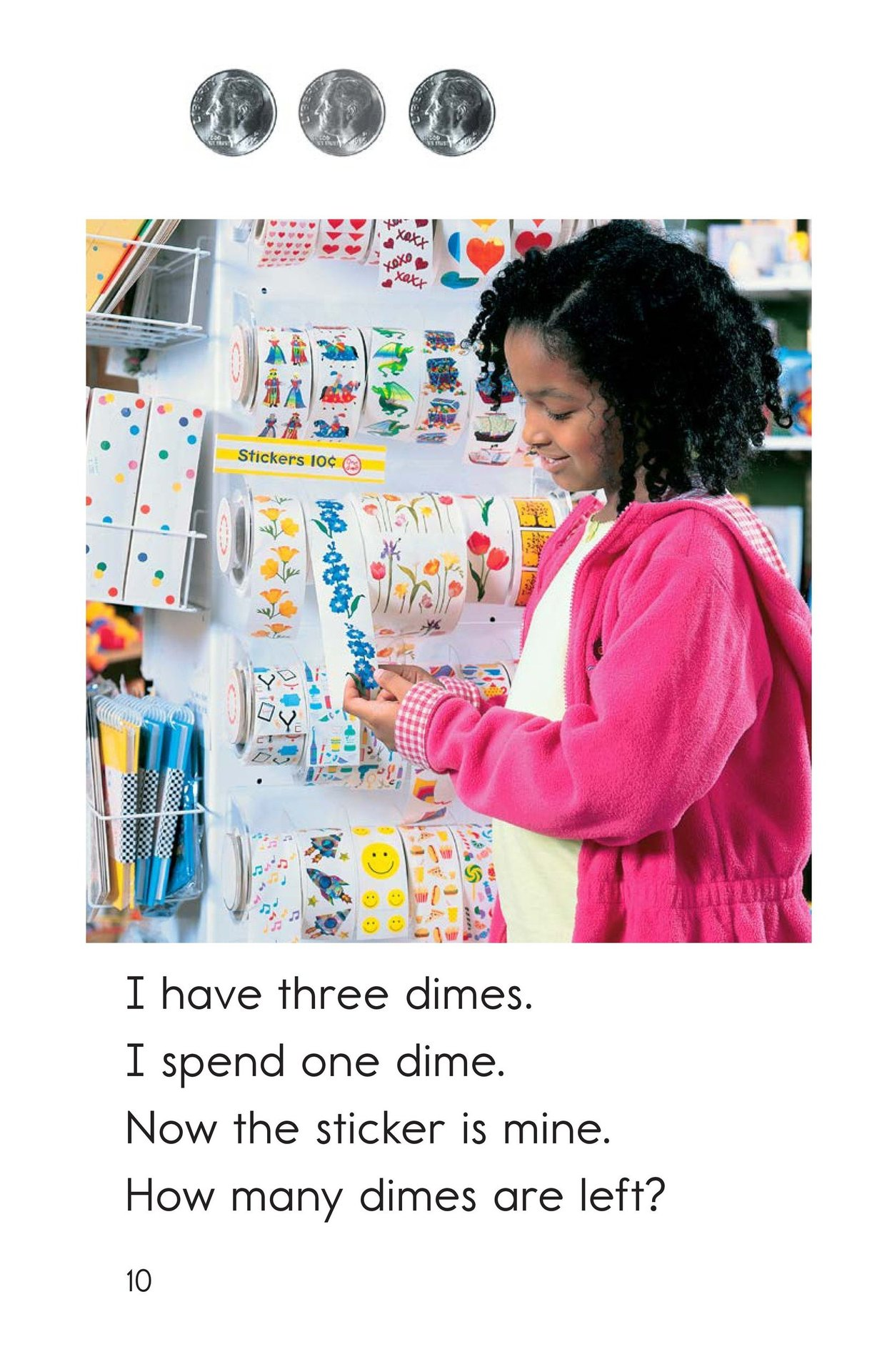 Book Preview For Spending Dimes One at a Time Page 10