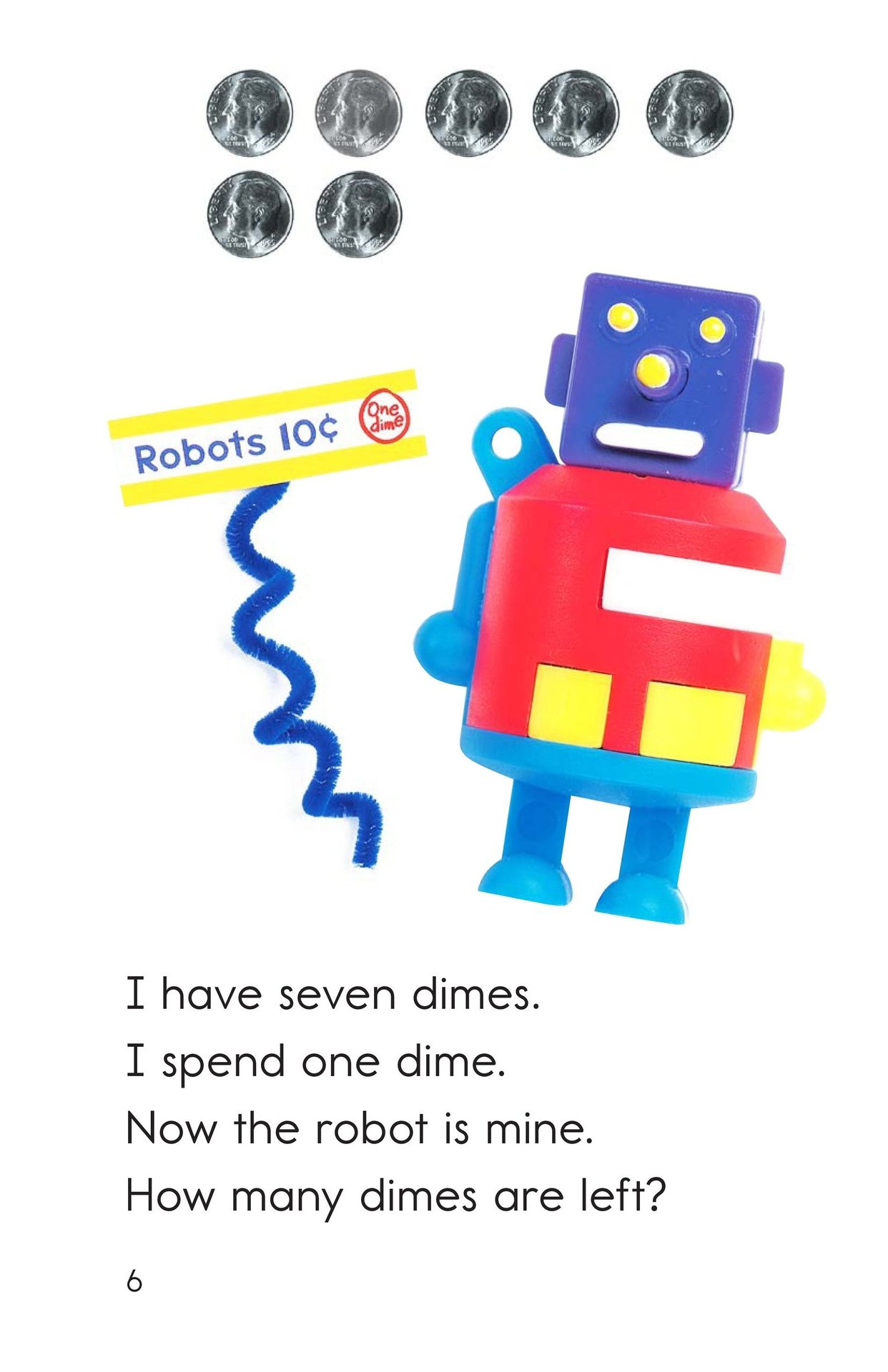 Book Preview For Spending Dimes One at a Time Page 6