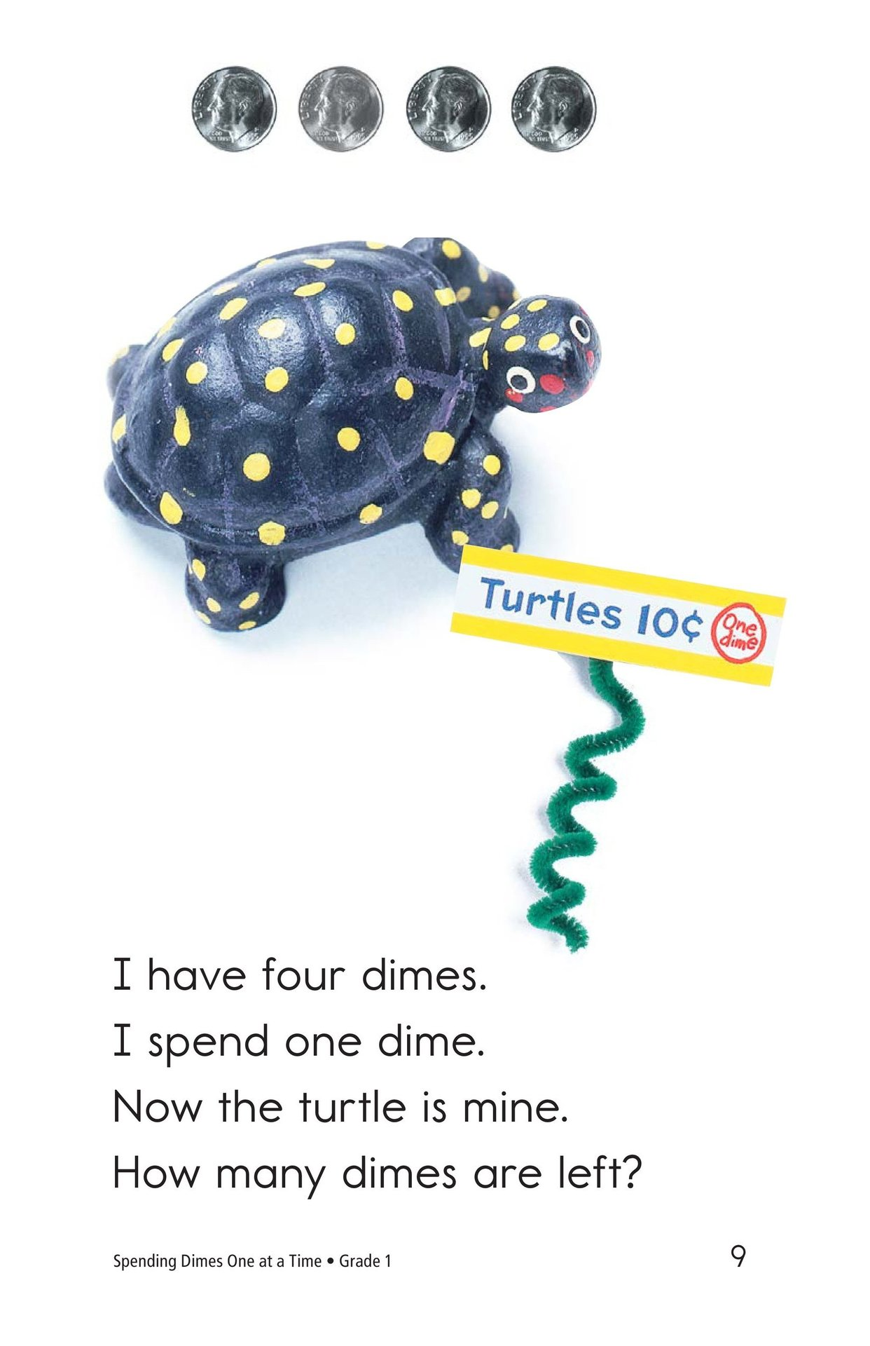 Book Preview For Spending Dimes One at a Time Page 9