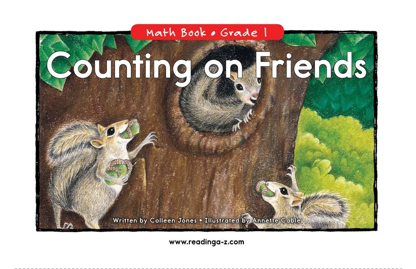 Book Preview For Counting On Friends Page 0