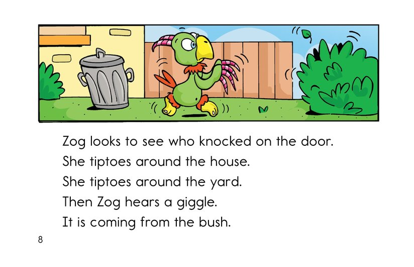 Book Preview For Hide and Seek with Zog Page 8