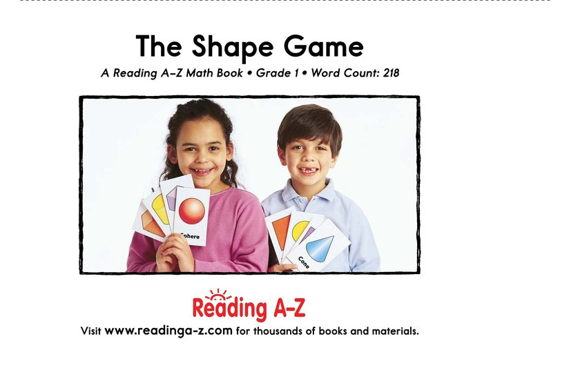 Book Preview For The Shape Game Page 17
