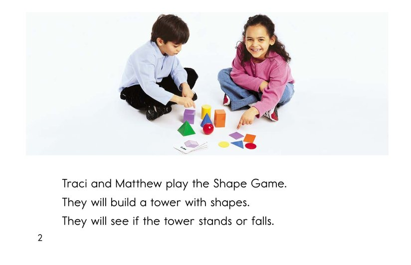 Book Preview For The Shape Game Page 2