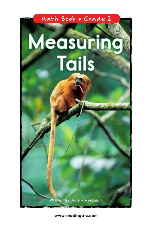 Book Preview For Measuring Tails Page 0