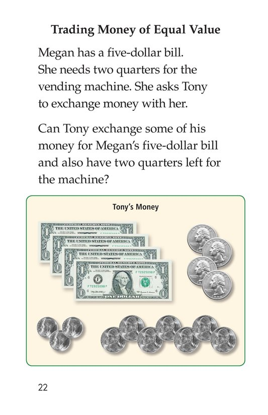 Book Preview For What's Your Money Worth? Page 22
